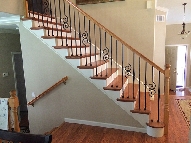Our Work Folsom Stair Amp Woodworks