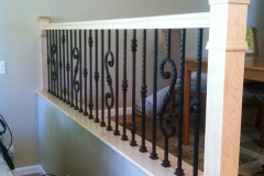 CG iron dining rm divider