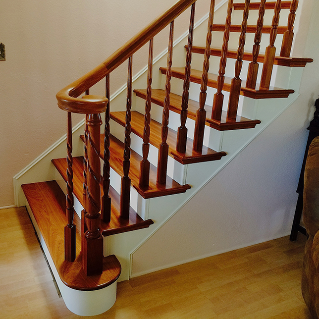 William S Woodworks Wood Stairs: Folsom Stair & Woodworks