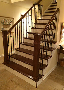 Folsom Stair U0026 Woodworks Supplies Two Different Types Of Hardwood Stair  Treads. First Is The Traditional 1u2033 Thick Solid Stair Tread And Second Is  The ...
